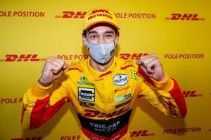 Pole sitter Nathanael Berthon, Comtoyou DHL Team Audi Sport Audi RS3 LMS