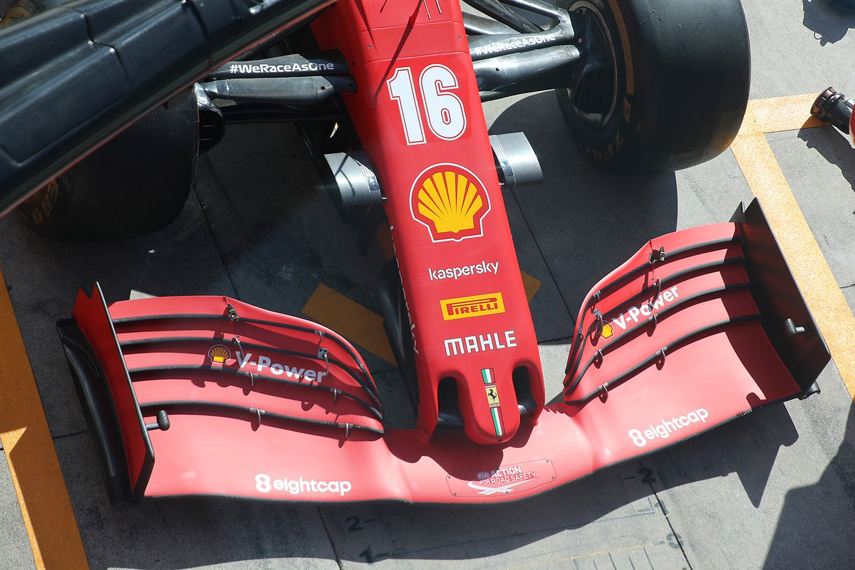 Ferrari SF1000 front wing