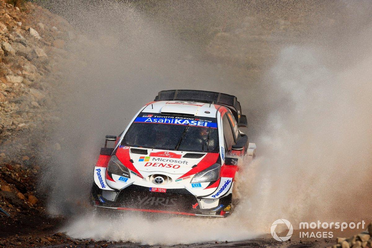 Kalle RovanperŠ (FIN), Toyota Gazoo Racing WRT, Toyota Yaris WRC 2020