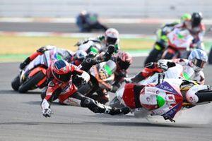 Caída de Tommaso Marcon, Tech 3 E-Racing