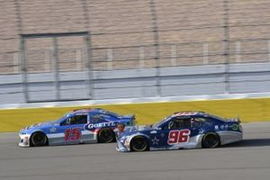 #15: Brennan Poole, Premium Motorsports, Chevrolet Camaro Goettl #96: Daniel Suarez, Gaunt Brothers Racing, Toyota Camry Team USA Toyota