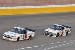 Spencer Boyd, Young's Motorsports, Chevrolet Silverado Hairclub Dylan Lupton, DGR-Crosley, Ford F-150 Fatal Motorsports