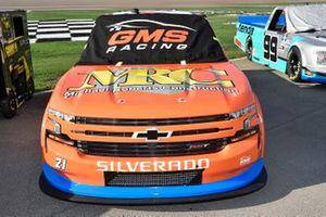 Zane Smith, GMS Racing, Chevrolet Silverado Michael Roberts Construction