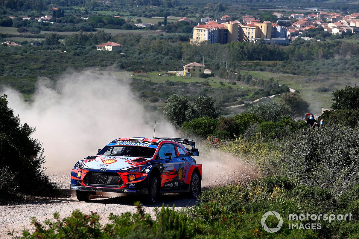 Ott Tänak, Martin Järveoja, Hyundai Motorsport Hyundai i20 Coupe WRC WRC