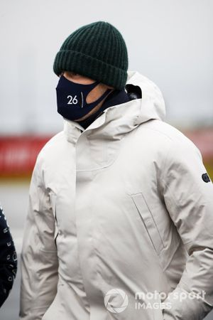 Pierre Gasly, AlphaTauri walks the track