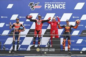 Alex Marquez, Repsol Honda Team, Danilo Petrucci, Ducati Team, Pol Espargaro, Red Bull KTM Factory Racing
