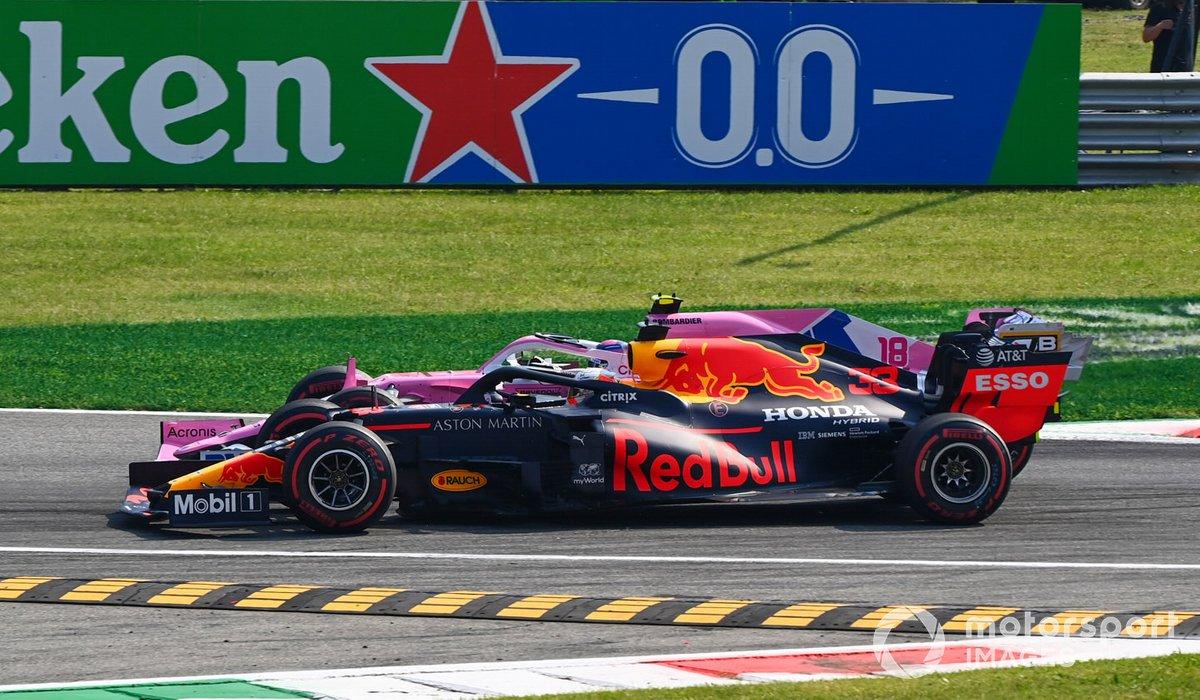 Макс Ферстаппен, Red Bull RB16, Лэнс Стролл, Racing Point RP20