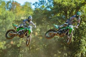 Clément Desalle y Romain Febvre, Monster Energy Kawasaki Racing Team