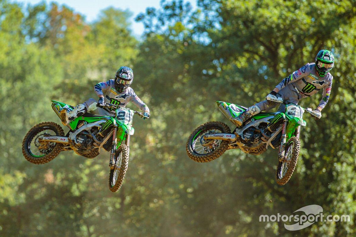 Clément Desalle y Romain Febvre, Monster Energy Kawasaki Racing Team