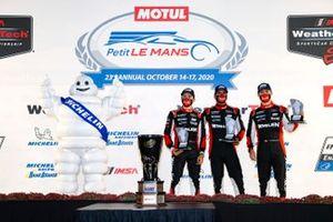 #31 Whelen Engineering Racing Cadillac DPi, DPi: Pipo Derani, Felipe Nasr, Filipe Albuquerque, podium