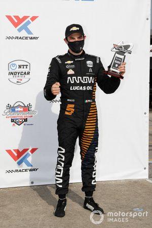 Podio: tercer lugar Pato O'Ward, Arrow McLaren SP Chevrolet