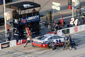 William Byron, Hendrick Motorsports, Chevrolet Camaro Liberty Univeristy Throwback