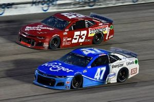 Ricky Stenhouse Jr., JTG Daugherty Racing, Chevrolet Camaro Kroger, James Davison, Rick Ware Racing, Ford Mustang