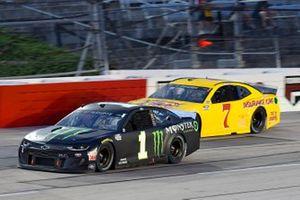 Kurt Busch, Chip Ganassi Racing, Chevrolet Camaro Monster Energy, Josh Bilicki, Tommy Baldwin Racing, Chevrolet Camaro Insurance King