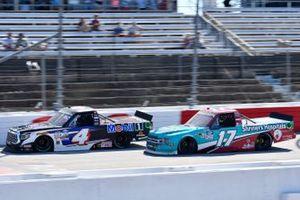 Raphael Lessard, Kyle Busch Motorsports, Toyota Tundra Mobil 1, David Ragan, DGR-Crosley Ford F-150 Shriners Hospitals