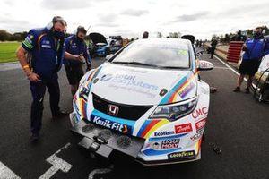 Jake Hill, MB Motorsport Honda Civic Type R