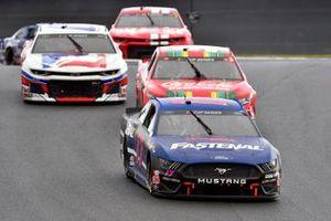 Chris Buescher, Roush Fenway Racing, Ford Mustang Fastenal, Daniel Suarez, Gaunt Brothers Racing, Toyota Camry Coca-Cola