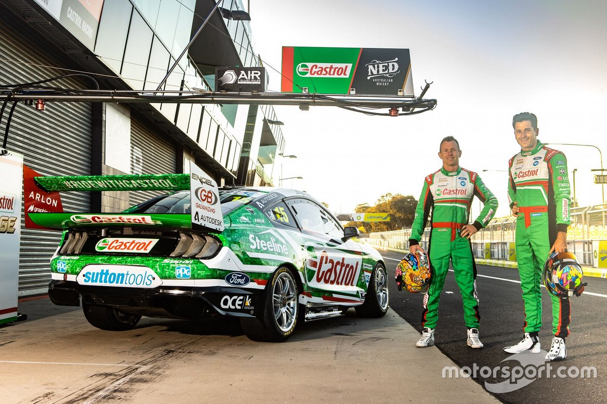 Rick Kelly and Dale Wood, Kelly Racing Ford Mustang