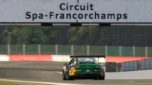 Jeff Giassi no traçado de Spa-Francorchamps