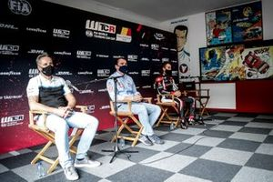 Yvan Muller, Cyan Racing Lynk & Co 03 TCR , Norbert Michelisz BRC Hyundai N LUKOIL Squadra Corse Hyundai i30 N TCR, Esteban Guerrieri, ALL-INKL.COM Munnich Motorsport Honda Civic TCR
