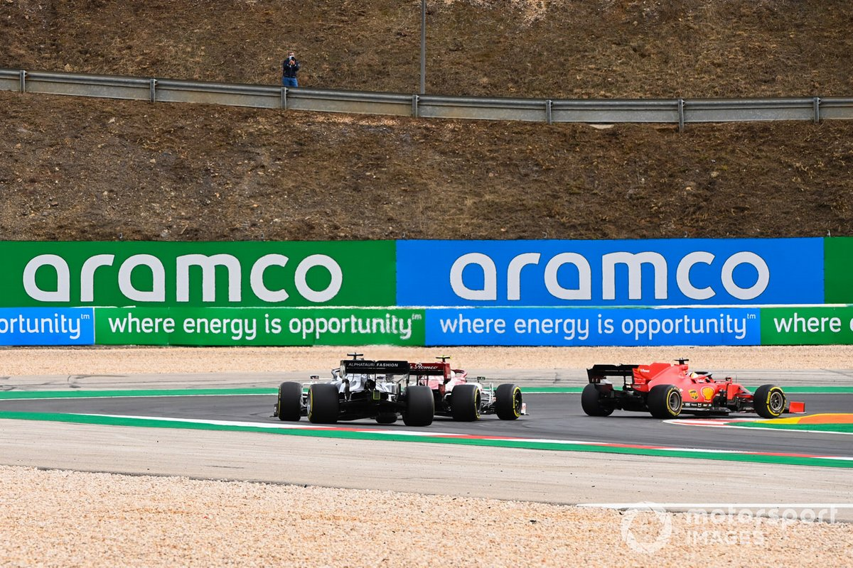 Sebastian Vettel, Ferrari SF1000, Antonio Giovinazzi, Alfa Romeo Racing C39, Daniil Kvyat, AlphaTauri AT01