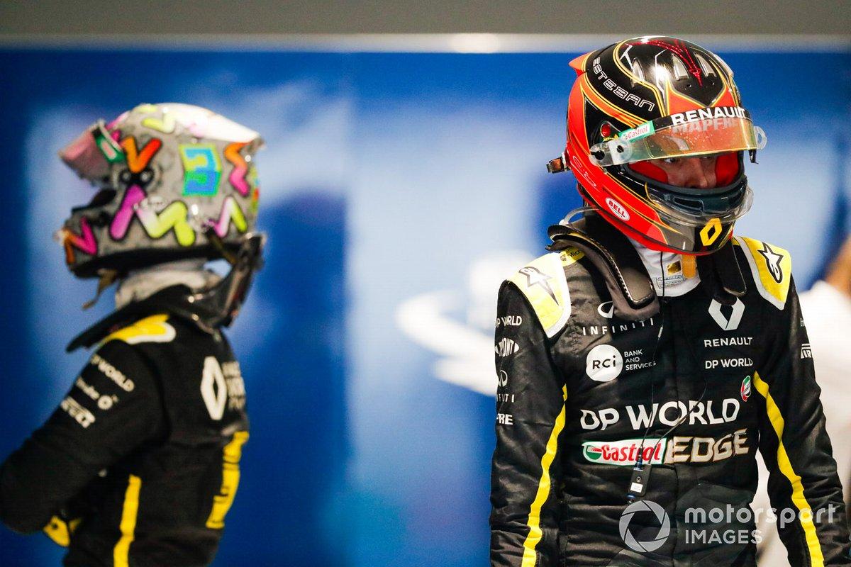 Даниэль Риккардо и Эстебан Окон, Renault F1
