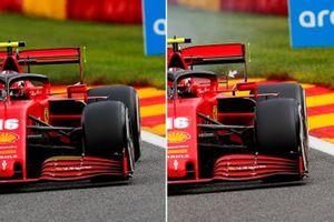 Comparativa del coche de Charles Leclerc, Ferrari SF1000