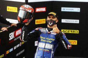 Loris Baz, Ten Kate Racing Yamaha prend la deuxième place en qualifications