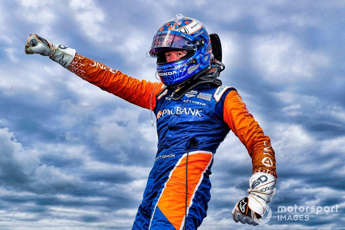 Ganador carrera 1: Scott Dixon, Chip Ganassi Racing Honda