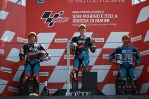 Marco Bezzecchi, Sky Racing Team VR46 Luca Marini, Sky Racing Team VR46 Enea Bastianini, Italtrans Racing Team