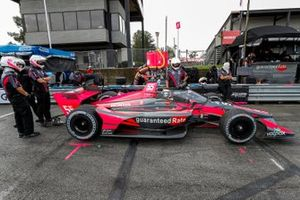 Alex Palou, Dale Coyne Racing with Team Goh Honda, crew