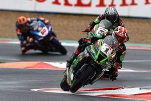 Jonathan Rea, Kawasaki Racing Team, Alex Lowes, Kawasaki Racing Team, Michael van Der Mark, Pata Yamaha