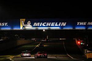 #9 Pfaff Motorsports Porsche 911 GT3 R, GTD: Dennis Olsen, Zacharie Robichon, Lars Kern, #25 BMW Team RLL BMW M8 GTE, GTLM: Connor De Phillippi, Bruno Spengler, Colton Herta