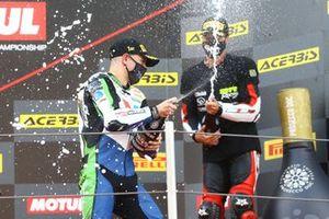 1. Tom Booth-Amos, RT Motorsports by SKM Kawasaki, 3. Marc Garcia, 2R Racing