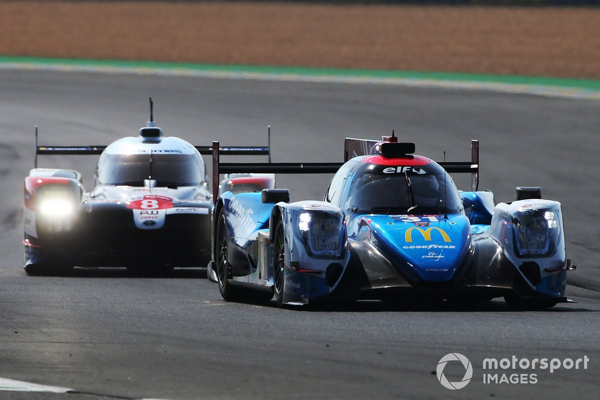 #31 Panis Racing Oreca 07- Gibson: Nicolas Jamin, Julien Canal, Matthieu Vaxiviere