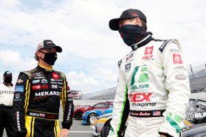 Brandon Jones, Joe Gibbs Racing, Toyota Supra Menards/Pelonis and Harrison Burton, Joe Gibbs Racing, Toyota Supra Fields/DEX Imaging