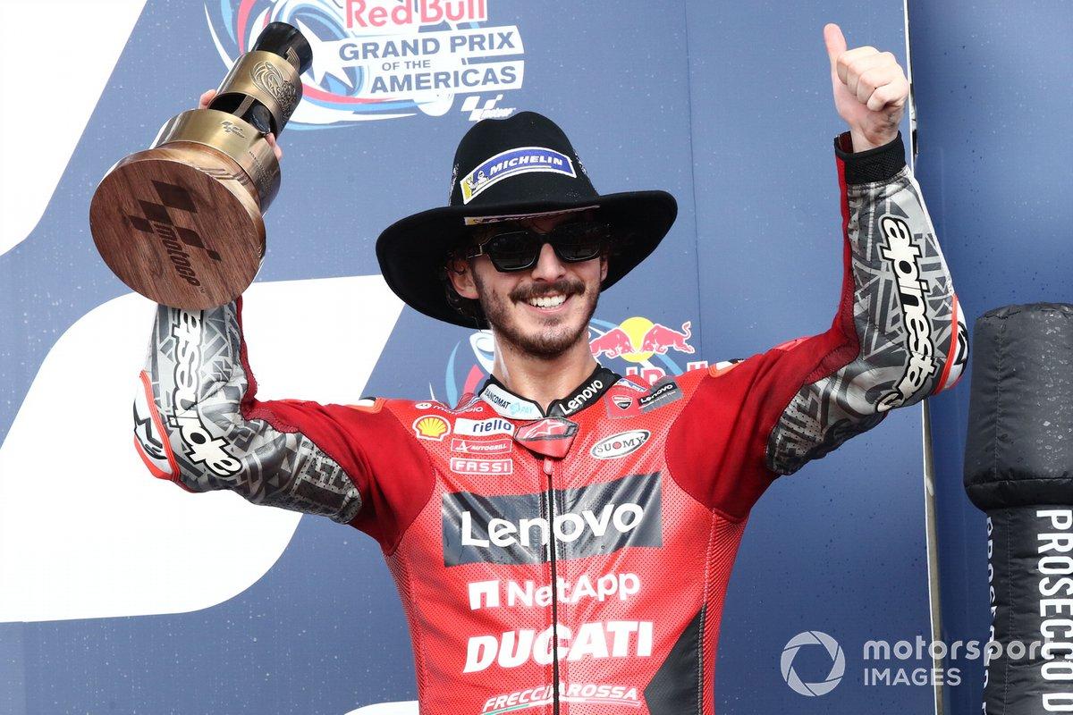 Podio: tercer lugar Francesco Bagnaia, Ducati Team