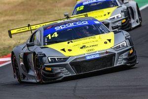 #14 Audi Sport Italia, Audi R8 LMS GT3: Filip Salaquarda, Karol Basz, Vito Postiglione