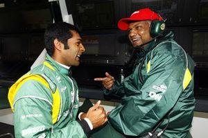 Karun Chandhok, Tony Fernandes, Team Principal, Team Lotus
