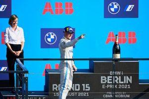 Podio: tercer lugar Stoffel Vandoorne, Mercedes-Benz EQ