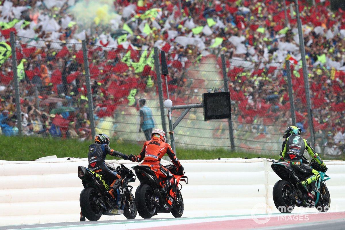 Luca Marini, Esponsorama Racing Iker Lecuona, KTM Tech3, Valentino Rossi, Petronas Yamaha SRT