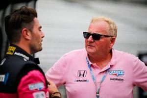 Jack Harvey, Meyer Shank Racing Honda, Jim Meyer