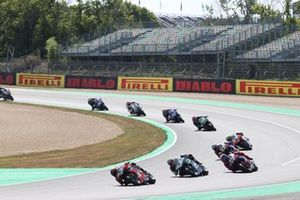 Michael Ruben Rinaldi, Aruba.It Racing - Ducati, Chaz Davies, Team GoEleven, Leon Haslam, Team HRC, Alvaro Bautista, Team HRC