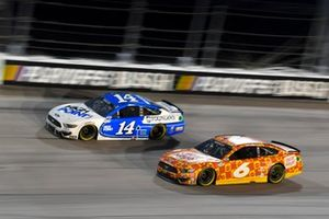 Chase Briscoe, Stewart-Haas Racing, Ford Mustang HighPointcom/Founders, Ryan Newman, Roush Fenway Racing, Ford Mustang Oscar Mayer Bologna