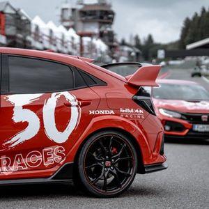 Balapan ke-50 Honda bersama Red Bull Racing