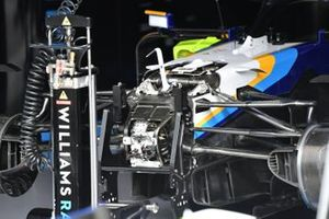 Williams FW43B front detail