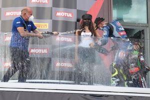 Eric de Seynes, Andrea Locatelli, PATA Yamaha WorldSBK Team