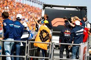 Daniel Ricciardo, McLaren on the drivers parade