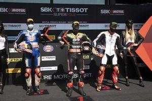 Toprak Razgatlioglu, PATA Yamaha WorldSBK Team, Jonathan Rea, Kawasaki Racing Team WorldSBK, Tom Sykes, BMW Motorrad WorldSBK Team