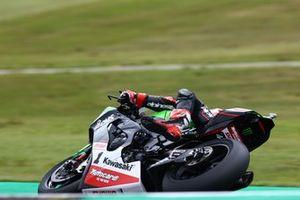 Jonathan Rea, Kawasaki Racing Team WorldSBK con el pie fuera